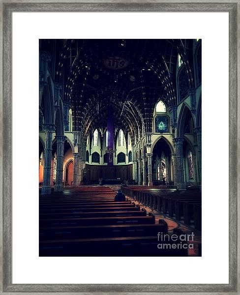 Holy Week Framed Print