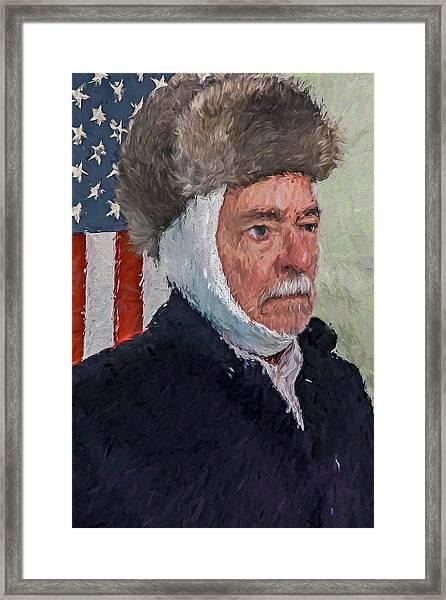 Homage To Van Gogh Two Framed Print