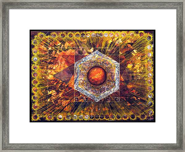 Home Is Where The Hearth Is Framed Print by Tom Hefko