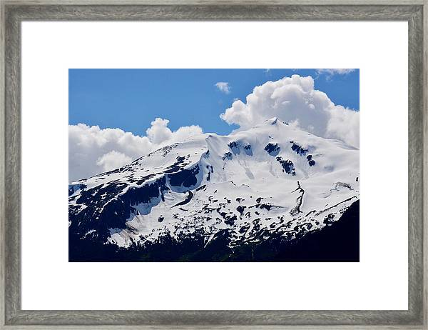 Home Of The North Wind - Skagway Framed Print