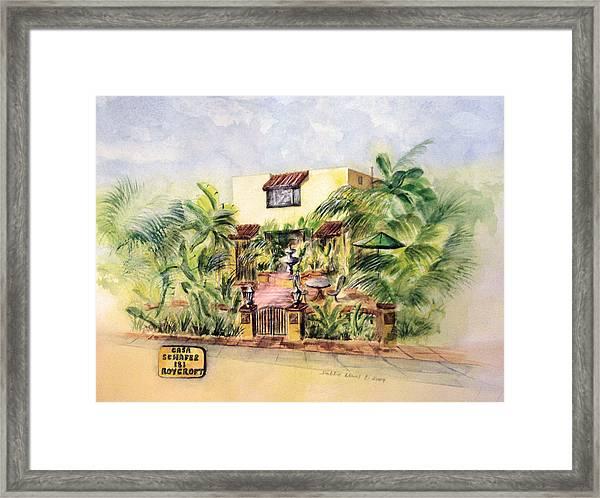 Home On Belmont Shore Framed Print