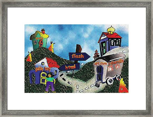 Home Page Framed Print