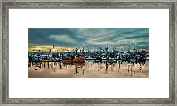 Home Port Framed Print