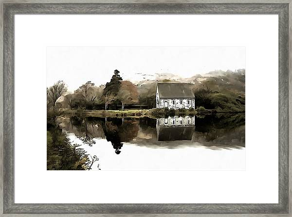 Homely House Framed Print