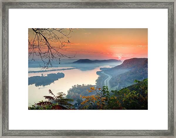 Homer Sunrise Framed Print