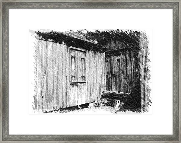 Homestead 3 Framed Print