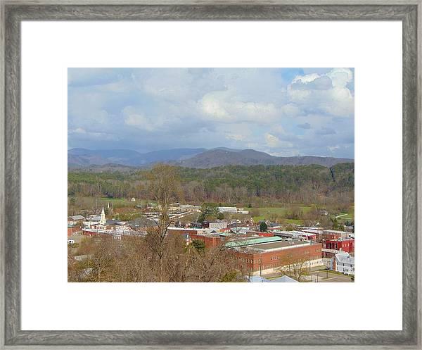 Hometown Framed Print
