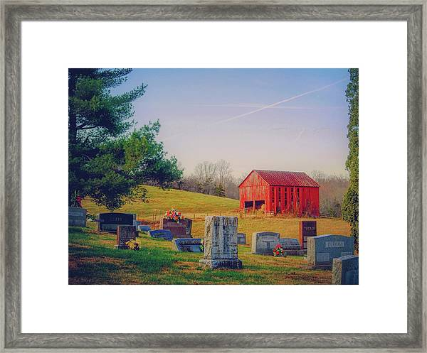 Hometown Framed Print