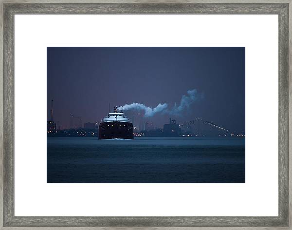 Hon. James L. Oberstar Framed Print