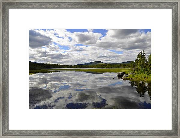 Hon Lake Framed Print