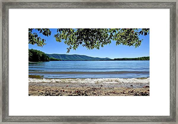 Honey Suckel Cove, Smith Mountain Lake Framed Print