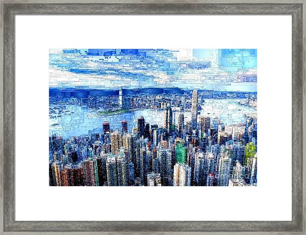 Hong Kong, China Framed Print