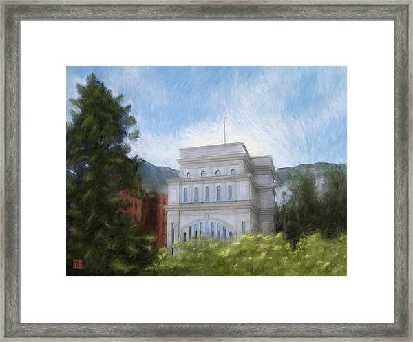 Hong Kong Temple Framed Print