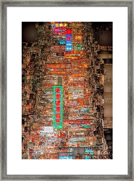 Hong Kong -yaumatei Framed Print
