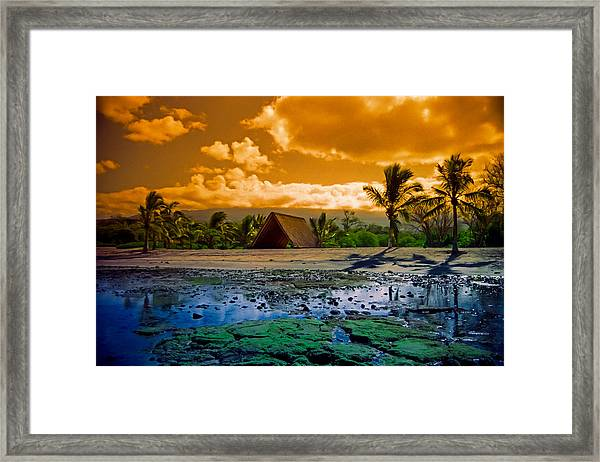 Honokohau Framed Print