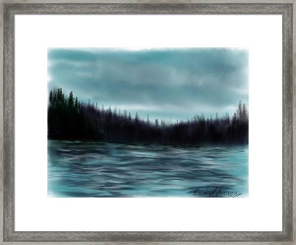 Hood Canal Puget Sound Framed Print
