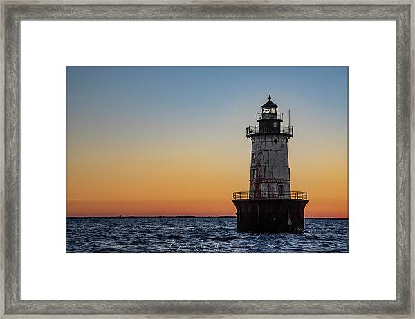 Hoopers Island Sunset Framed Print