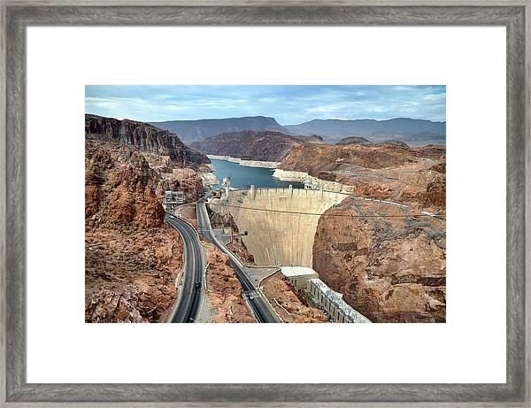 Hoover Dam Framed Print