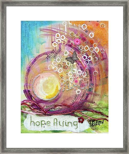 Hope Rising Framed Print