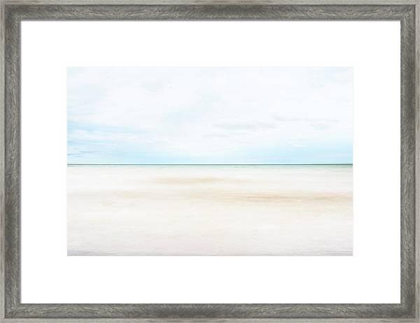 Horizon #9 Framed Print
