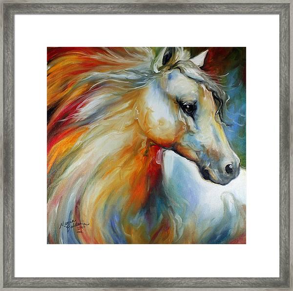 Horse Angel No 1 Framed Print