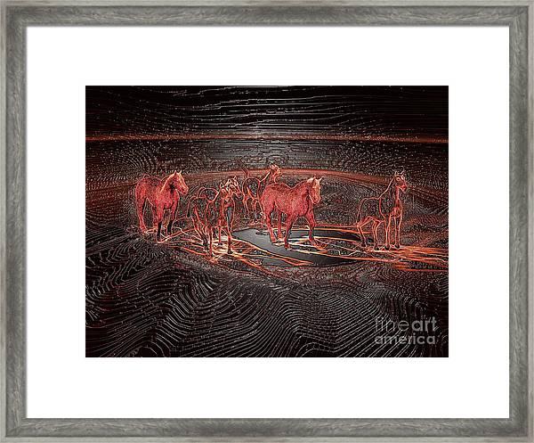 Horse Chestnut Pass Framed Print