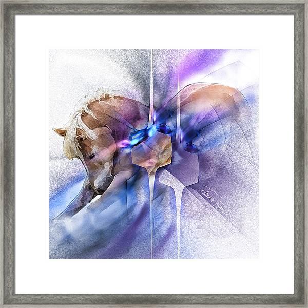 Horse Prayer Framed Print