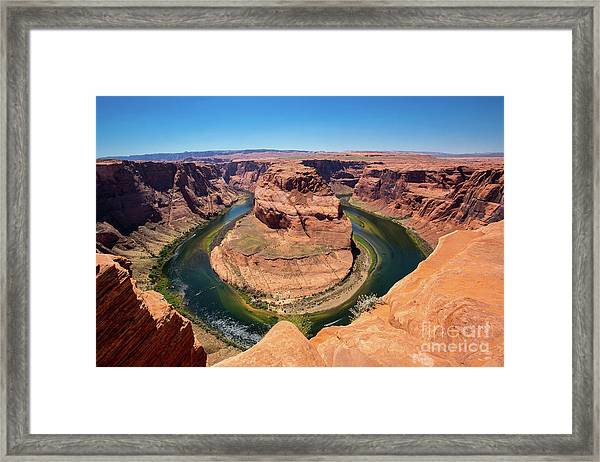 Horseshoe Bend Framed Print