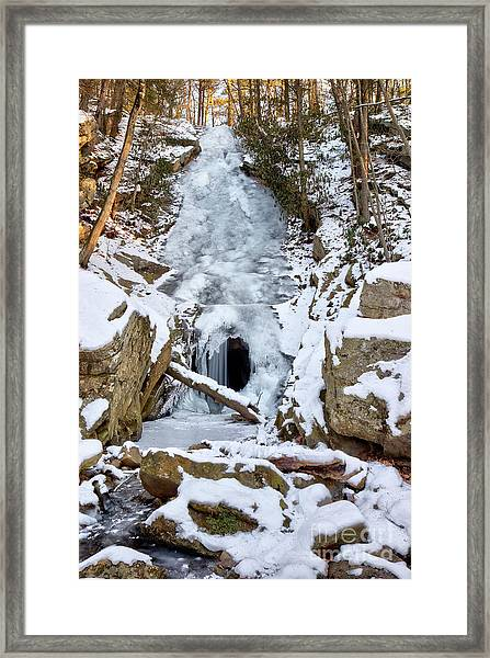 Horseshoe Mine Framed Print