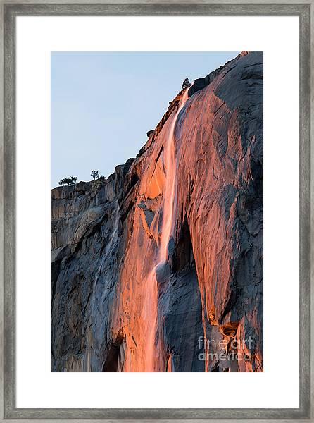 Horsetail Falls 2 Framed Print
