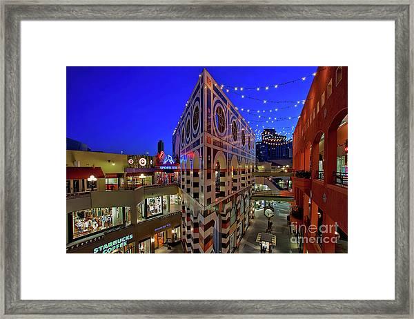 Horton Plaza Shopping Center Framed Print