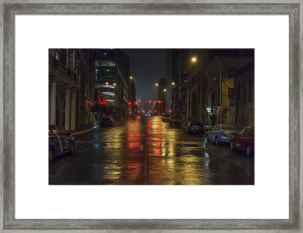 Hot Austin Framed Print