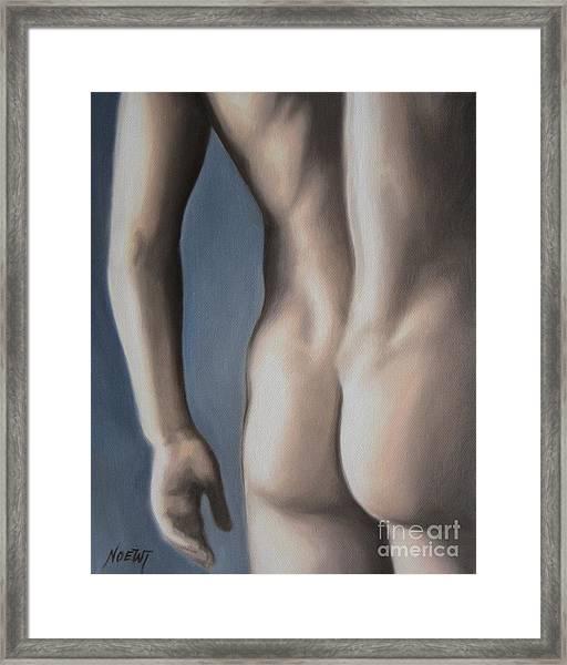 Hot Buns Framed Print