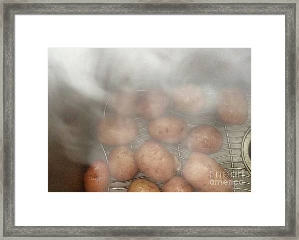 Hot Potato Framed Print