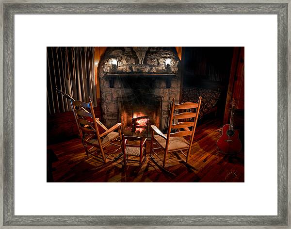 Framed Print featuring the photograph Hot Rockers by Williams-Cairns Photography LLC