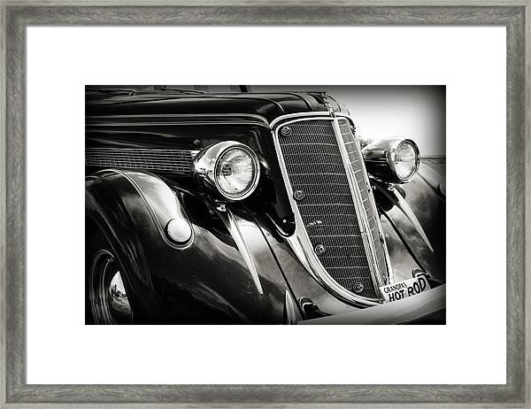 Hot Rod For Grandpa Framed Print