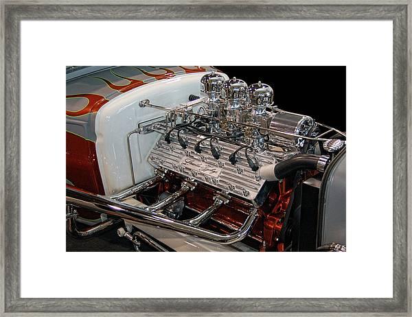 Hot Rod Lincoln Framed Print