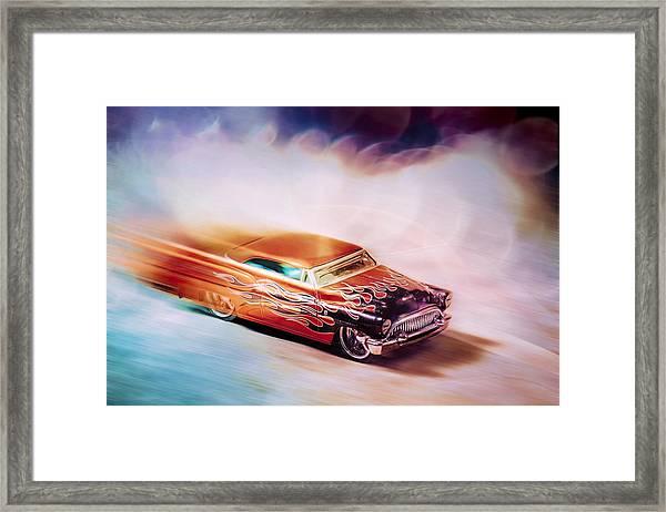 Hot Rod Racer Framed Print