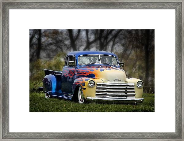 Hot Rod Truck Framed Print