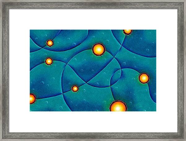 Hot Spots Framed Print