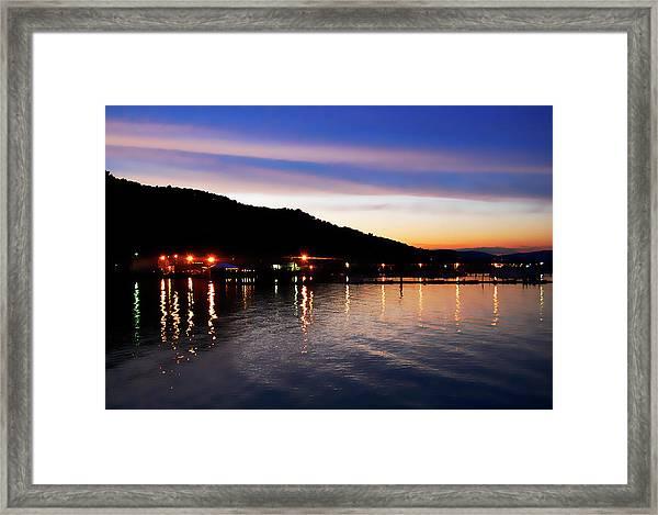 Hot Summers Night Framed Print