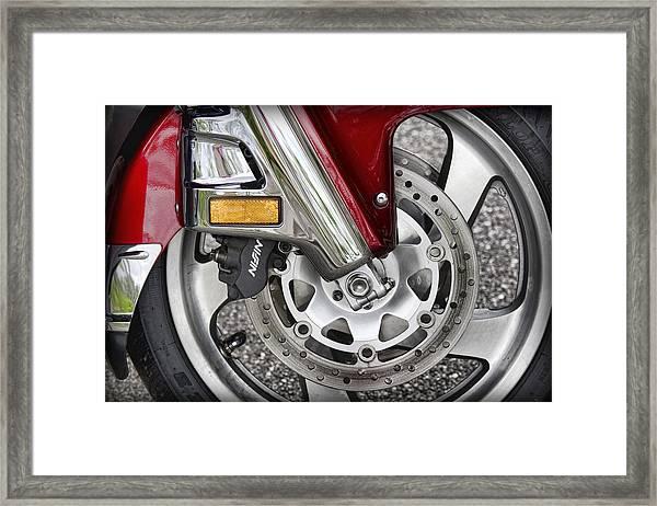 Hot Wheel Framed Print
