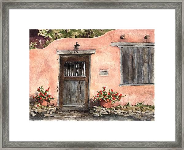 House On Delgado Street Framed Print