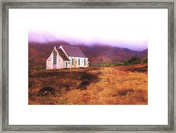 House On The Prairie Framed Print