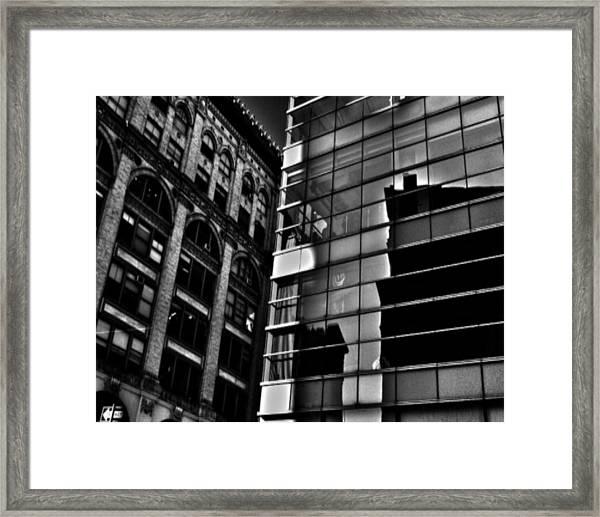 Houston Street Repose Framed Print