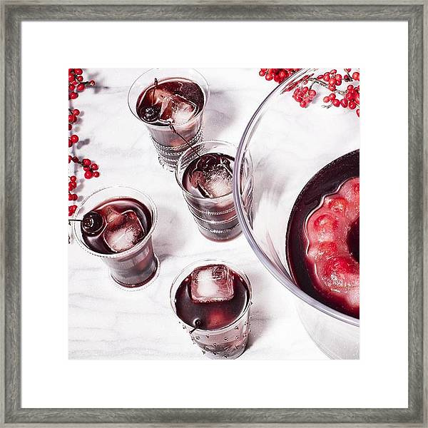 How Pretty Is This Mocktail For Your Framed Print