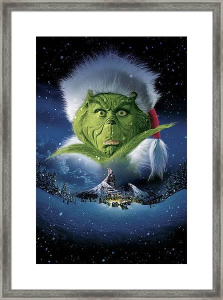 How The Grinch Stole Christmas 2000  Framed Print