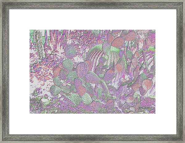 Framed Print featuring the digital art Ht2032 by Brian Gryphon