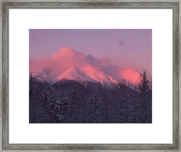 Hudson Bay Sunrise Framed Print