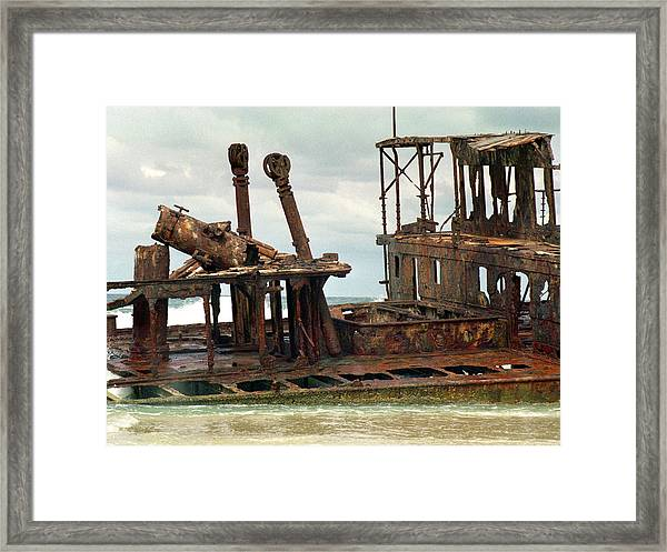 Hulk Of Meheno Framed Print